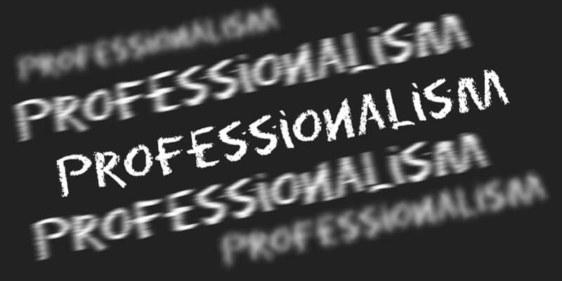 How do you define a Professional Sales Force?