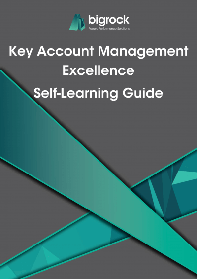 Bigrock Key Account Management Excellence Self-Learning Guide Front Cover
