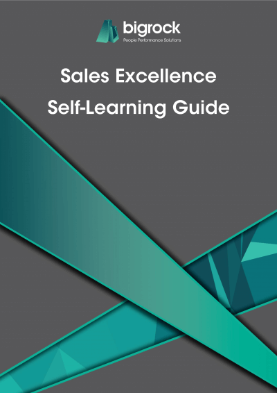Bigrock Sales Excellence Self-Learning Guide Front Cover