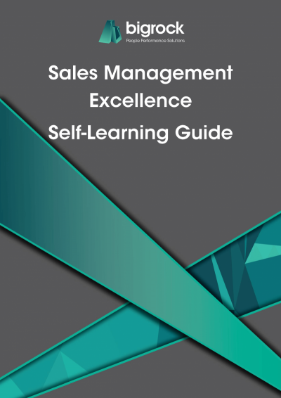 Bigrock Sales Management Excellence Self-Learning Guide Front Cover