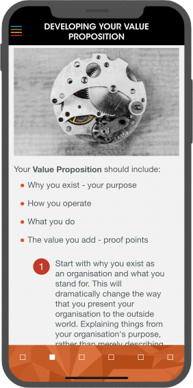 Account Management - Developing Your Value Proposition