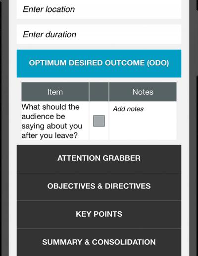 Presentation Excellence - Checklist
