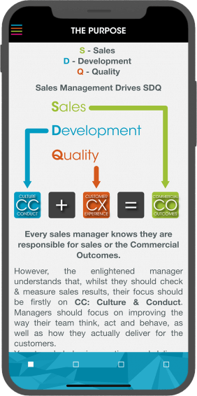 Sales Management - The Purpose